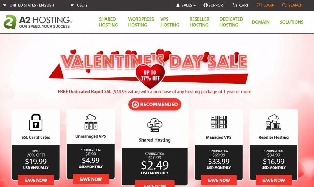 A2 Hosting web hosting coupon guru