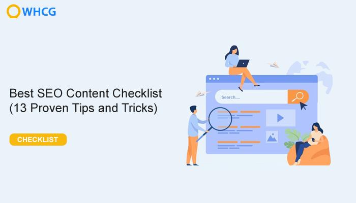 seo content checklist