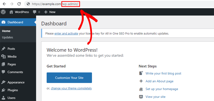 Change Default URL