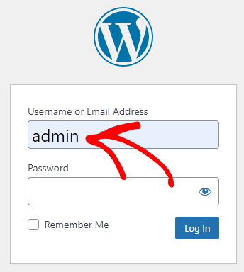 """Change the Default """"Admin"""" as a Username"""