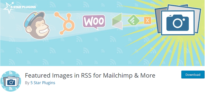 Featured Image in RSS
